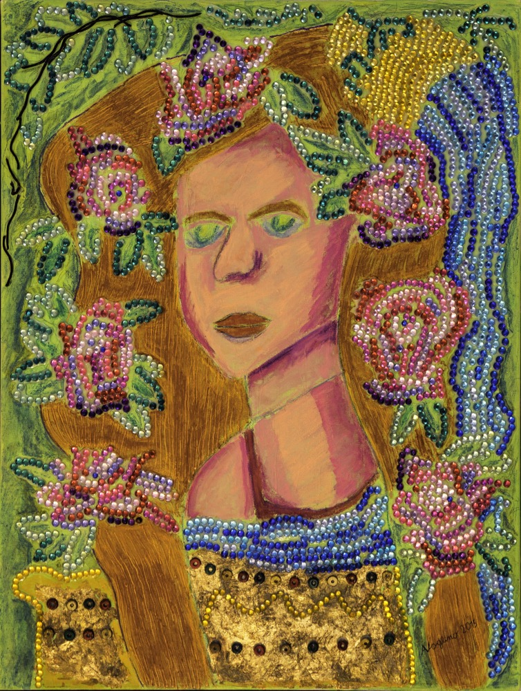 Alice Voglino, Donna fiorita, 2015