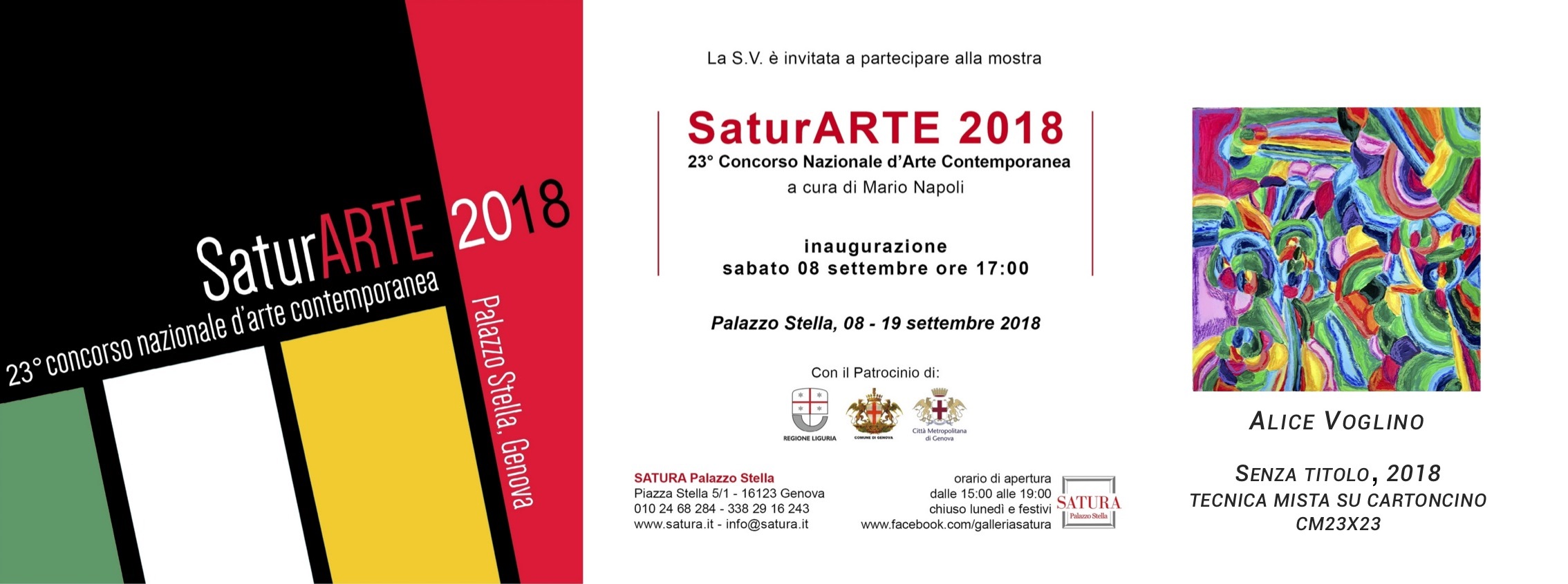 invito Alice Voglino_Saturarte2018