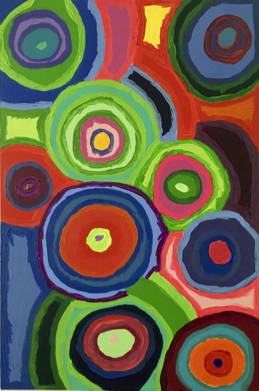 Artista contemporaneo pittura astratta affordable | Energie E05