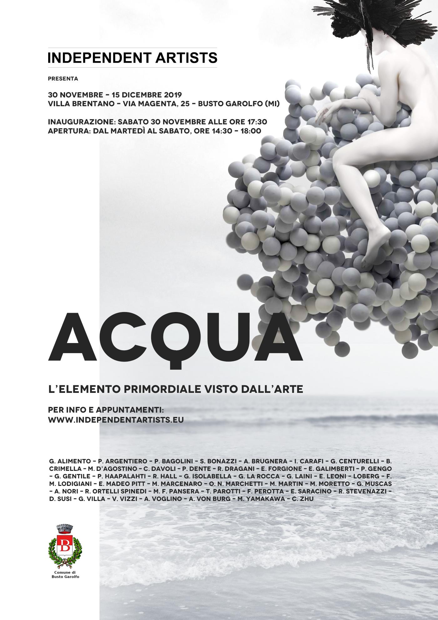 Alice Voglino _Acqua_arte contemporanea evento_2019