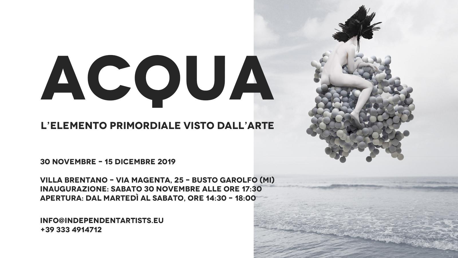 Alice Voglino _Acqua_esposizione 2019