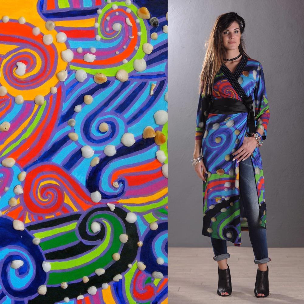 Artista contemporaneo pittura astratta e design | Artwear AW06